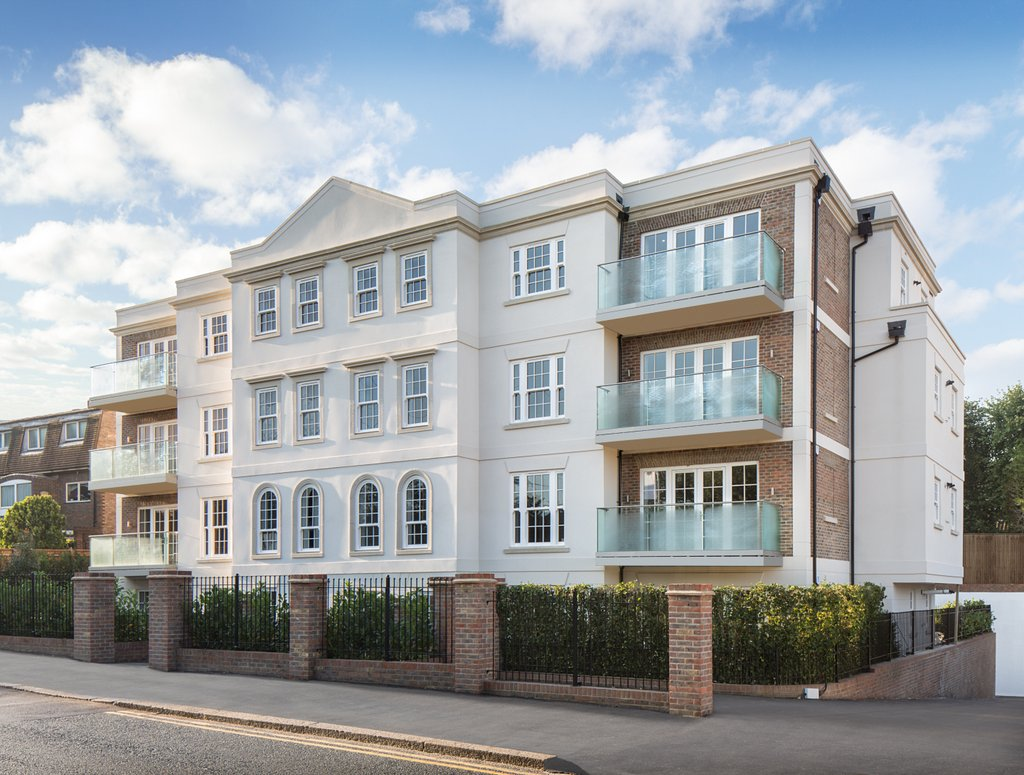 New Modern Front Elevation : Eagerly anticipated new homes launch in bushey heath