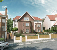CGI Charnwood - New Homes Finchley - Beechwood Avenue
