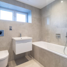 Bathroom plot 6 Primrose Court, Claybury