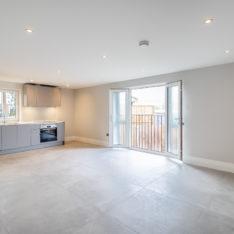 Kitchen/ Lounge area Plot 6 Primrose Court, Claybury